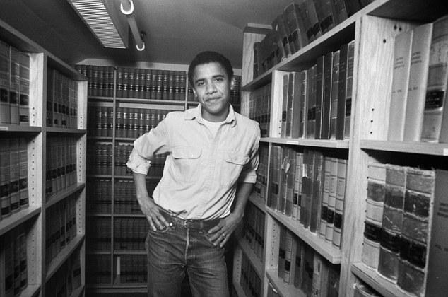 Barack Obama at Harvard Law